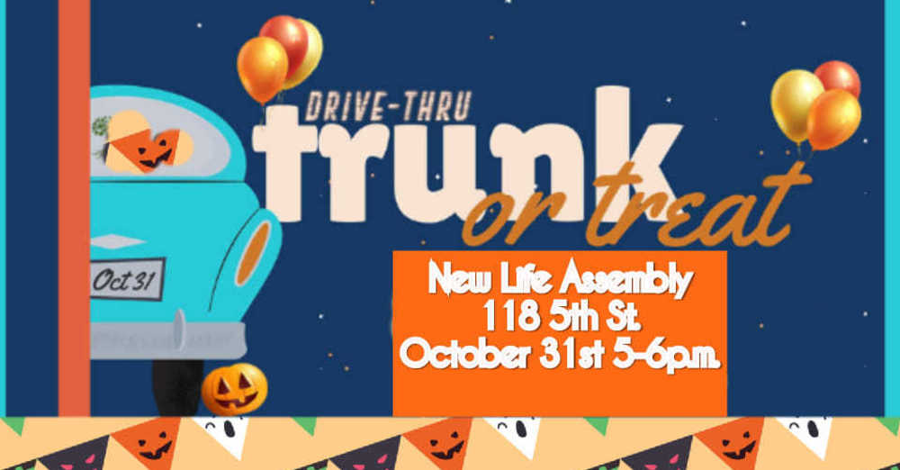 Drive-Thru Trunk-Or-Treat
