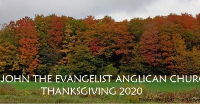 Thanksgiving 2020 - Parish Letter image