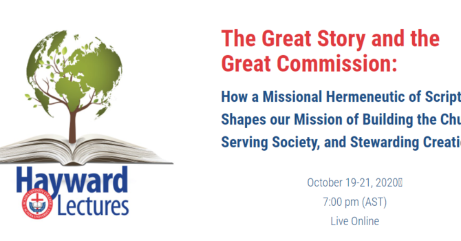 The Great Story and the Great Commission