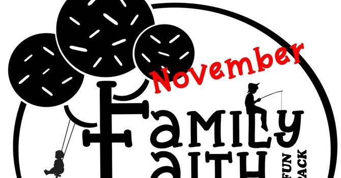 November Family Faith Fun Pack