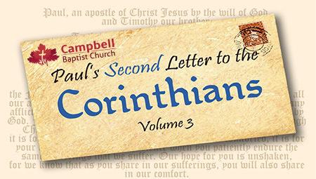 Paul's Second Letter to the  Corinthians Vol. 3
