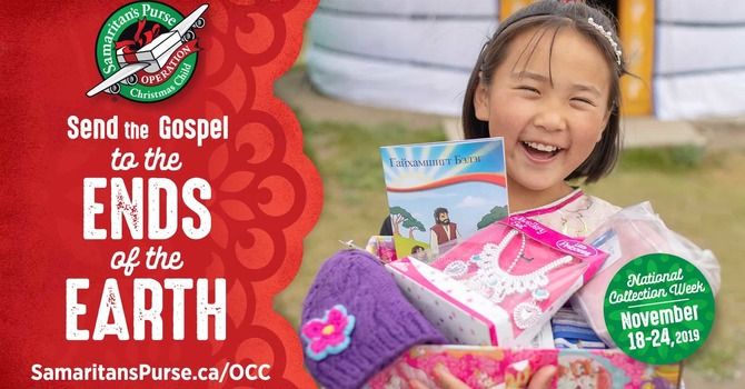 Operation Christmas Child - Fill a Shoebox today! image