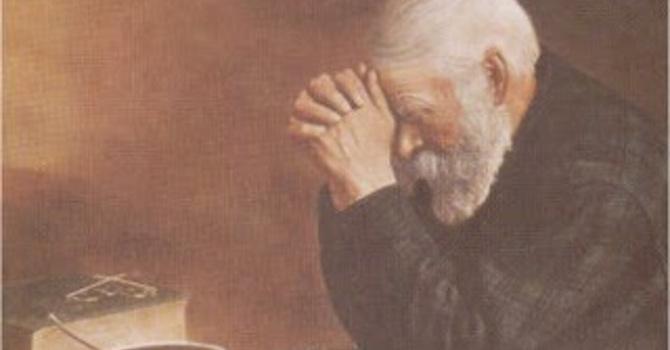 A Pastor's Visit - God's All Sufficient Grace image