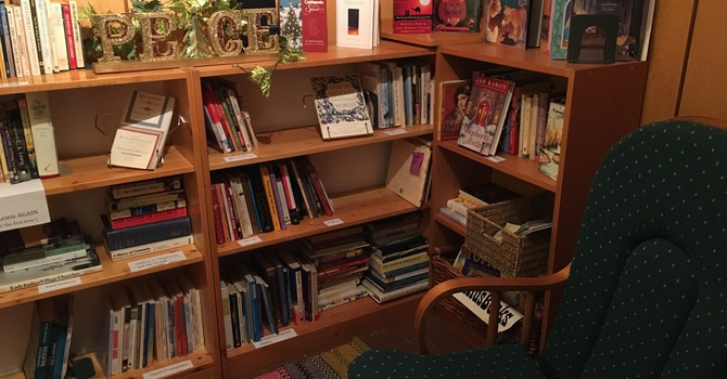 Visit the Book Nook this Christmas image