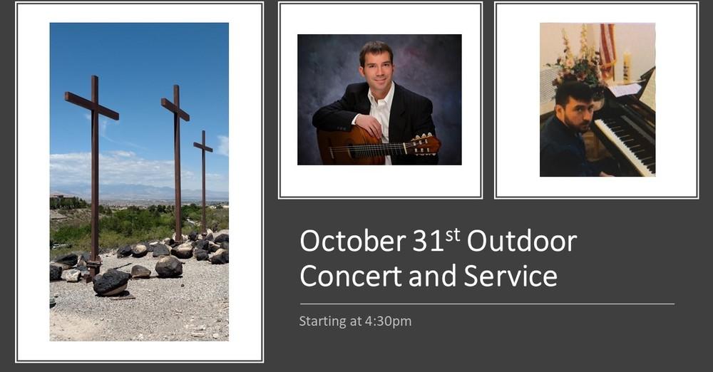 Outdoor Worship Concert