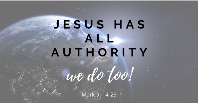 Jesus has Authority