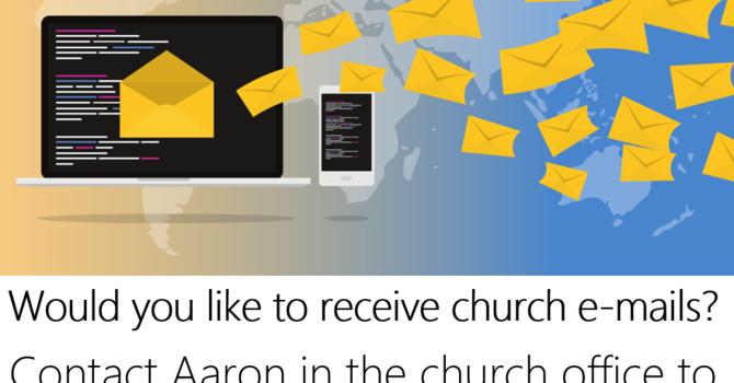 Church E-mails image