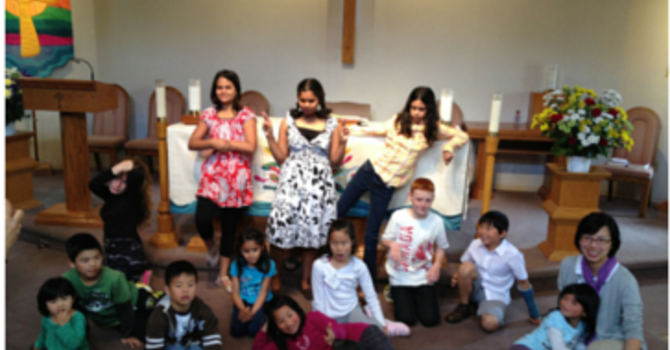 Children & Sunday School - Suspended during Covid