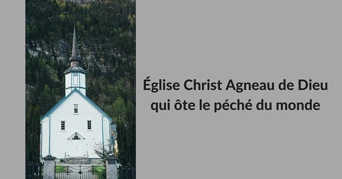 Église Christ Agneau de Dieu qui ôte le péché du monde