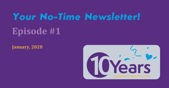 Welcome to the No-Time Newsletter Video Blog! image
