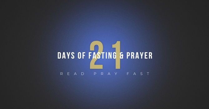 Prayer and Fasting in 2020
