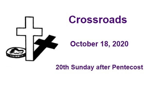 Crossroads October 18, 2020 image