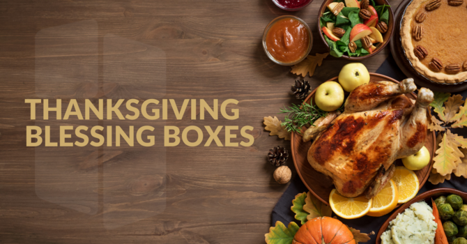 Thanksgiving Blessing Boxes image