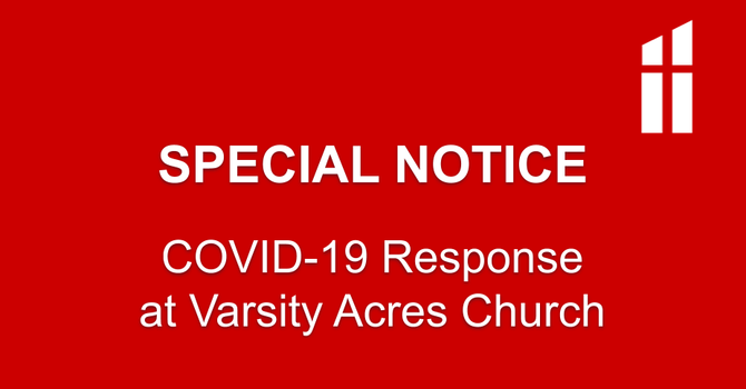 COVID-19 Response at VAPC - March 16 (Superseded) image