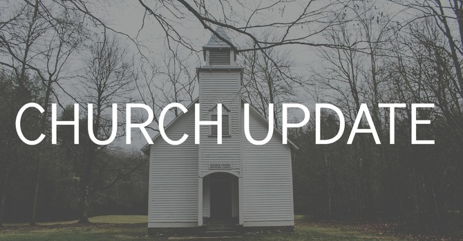 Update from Pastor Jimmy image