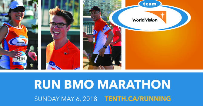 BMO Vancouver Marathon: Team World Vision