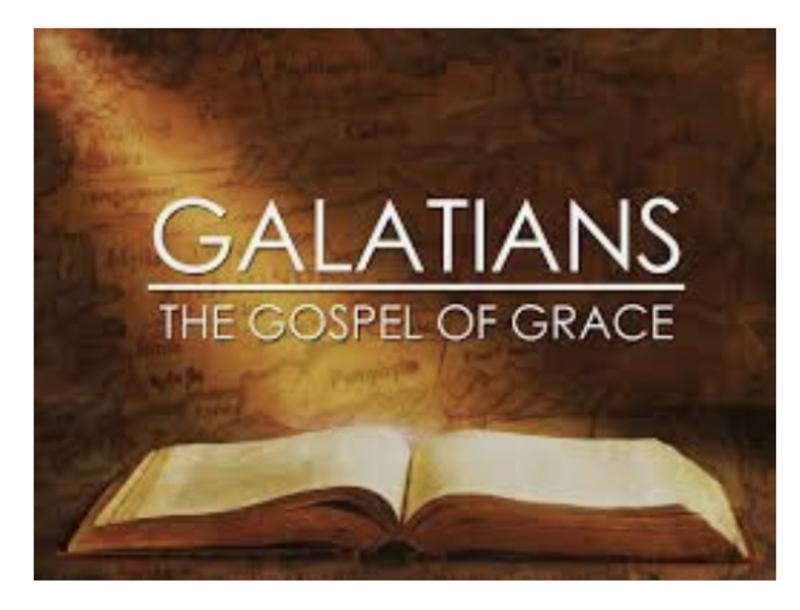 Galatians 6 - Pastor Frances Allen