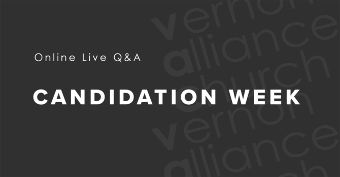 Online Live Q&A - Candidation Week