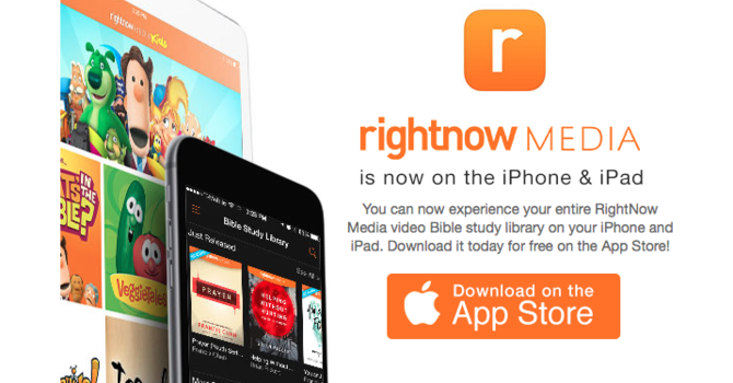 RightNow Media on your iPod, iPhone or iPad image