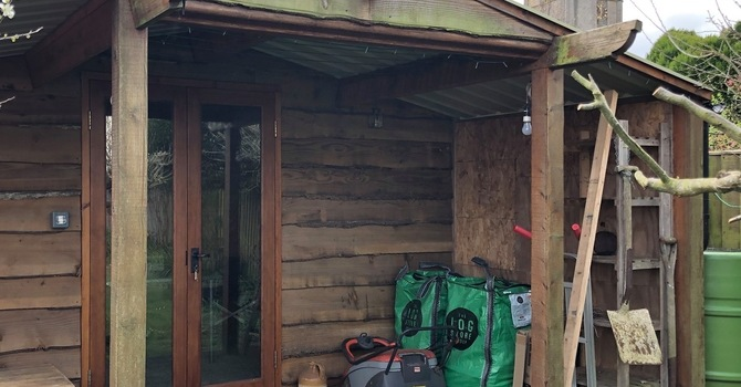 Dave Tomlinson's 'Holy Shed' image