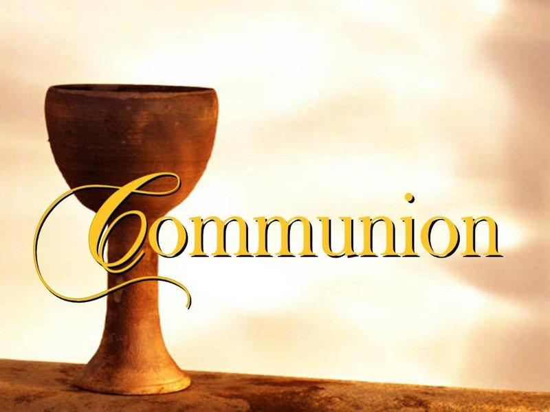 Communion & Sharing Service