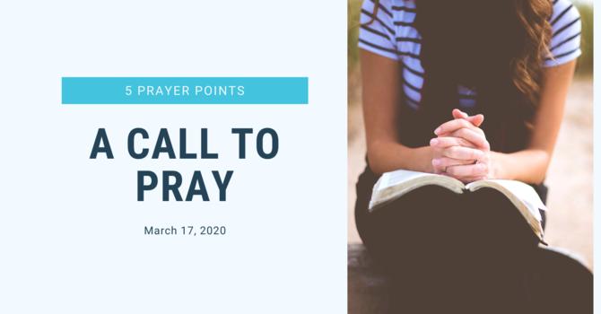 Bethel Family, A Call to PRAY! image