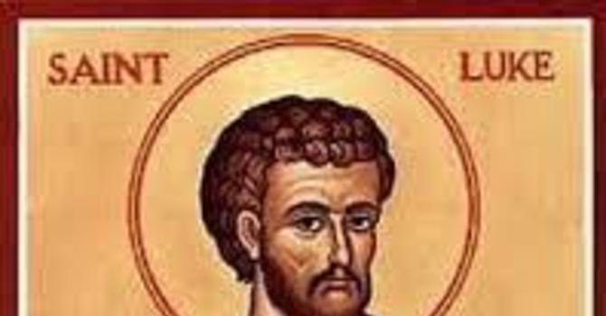 Bulletin: 19th Sunday After Trinity - St. Luke the Evangelist image