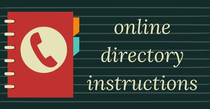 How to access the online directory image