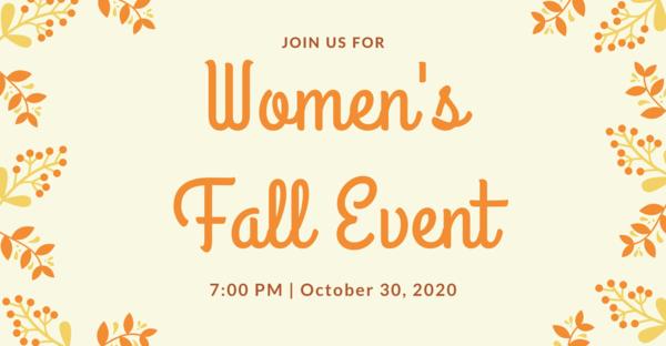 Women's Fall Event