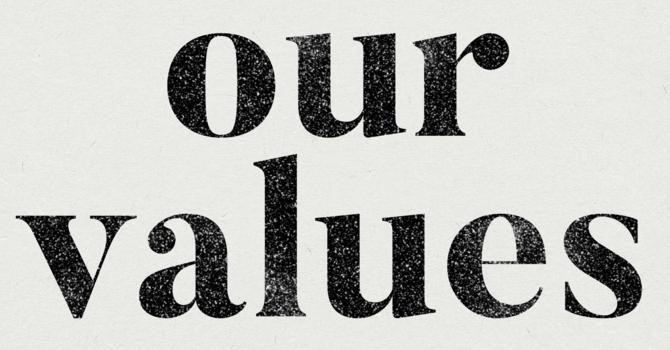We Value a Gospel Centred Life