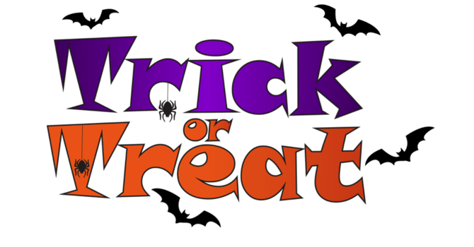 FULLY BOOKED - Hallowe'en Trick or Treat