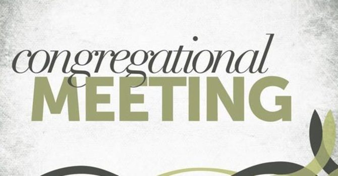 Congregational Meeting Results image