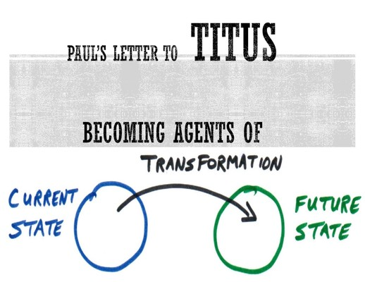 Paul's Letter to Titus~Becoming Agents of Transformation