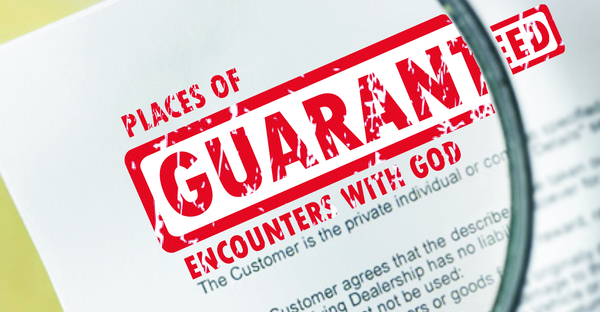 Places of Guaranteed Encounters with God