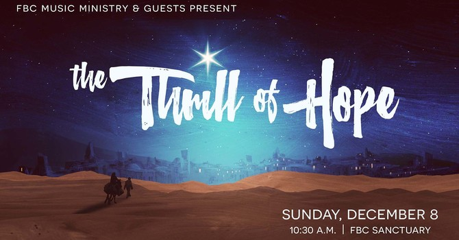 The Thrill of Hope Christmas Musical