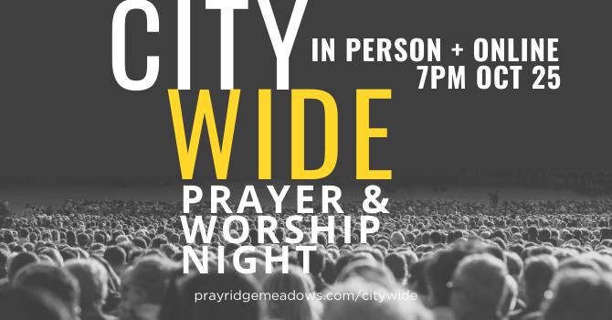 City Wide Prayer & Worship Night