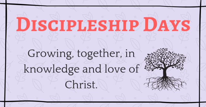 Discipleship Day - The Church