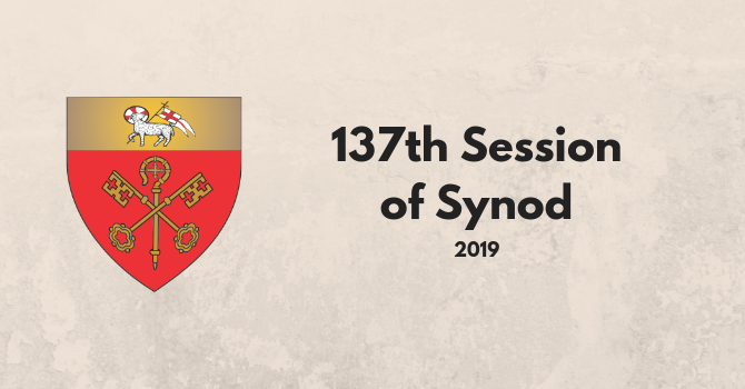 137th Session of Diocesan Synod