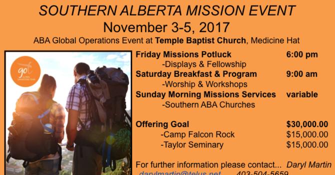 Southern Alberta GO Team Event