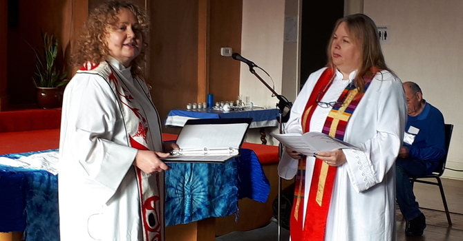Advent 2  Covenanting Service for the Rev. Dr. Laura Hermakin