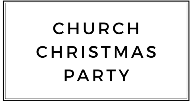 Church Christmas Party