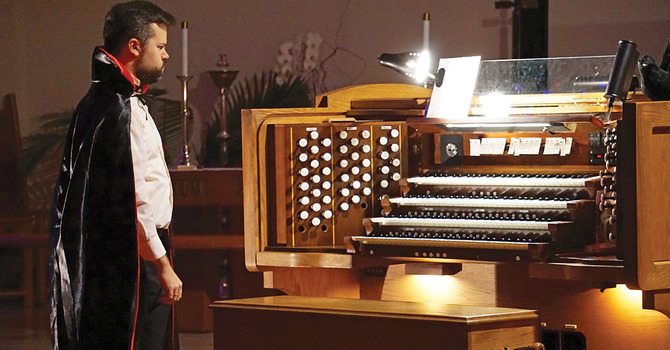 The 14th Annual Hallowe'en Organ Spooktacular image