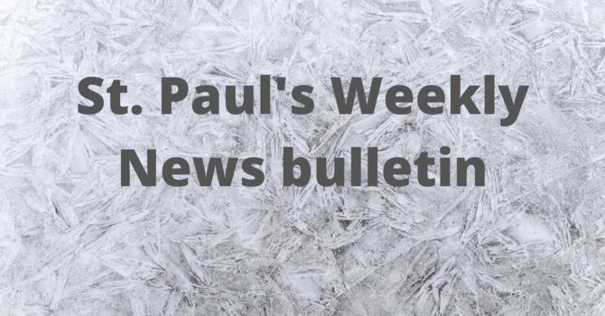 St. Paul's February 23rd News Bulletin image
