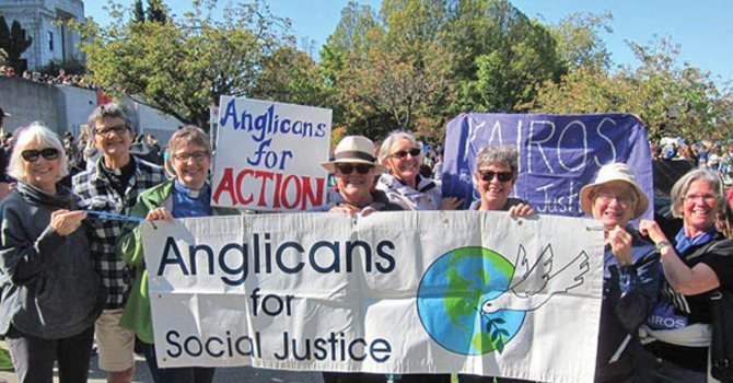 Anglicans at Climate Strike 2019