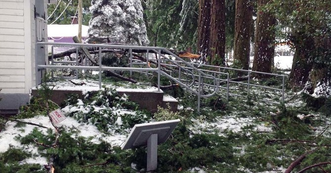 Heritage Church in Hope Escapes Ice Storm Damage image