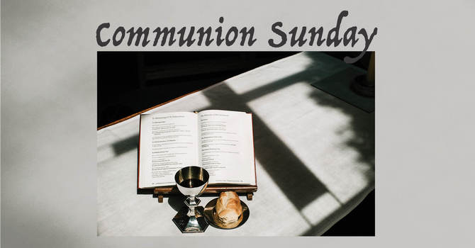 Communion Sunday image