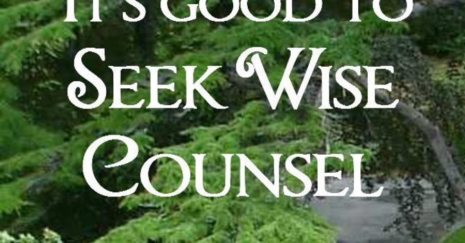 5 qualities of a wise counselor