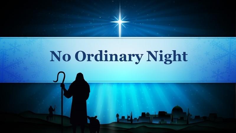 No Ordinary Night