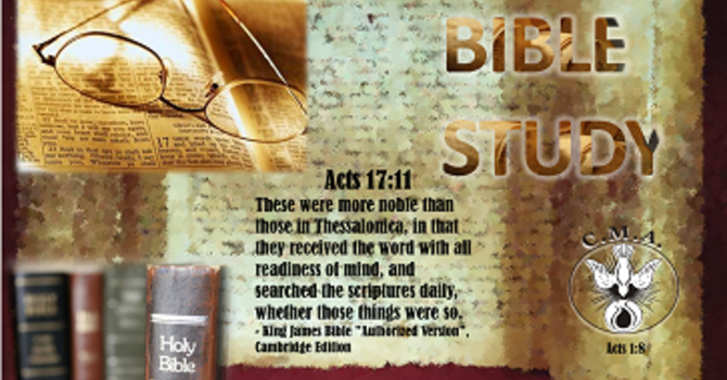 Wednesday Bible Study & Kids Church