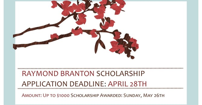 Raymond Branton Scholarship  image